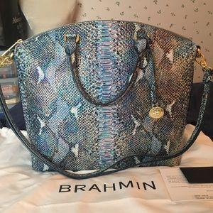 NEW Brahmin large duxbury Satchel